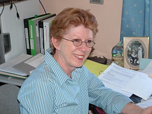 Peggy at Desk 1